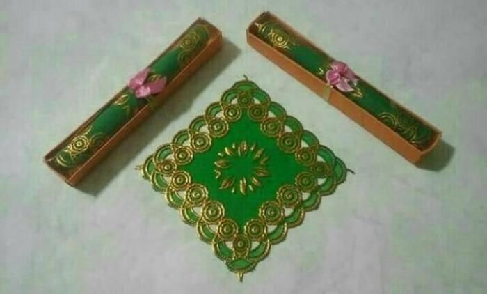 Foto Produk Souvenir Pernikahan Tatakan Gelas Box Mika dari s1d1 online