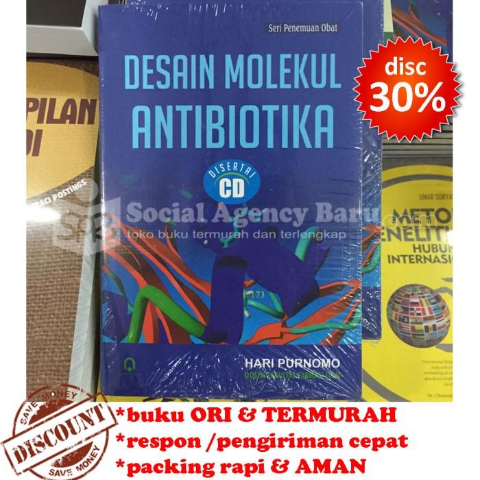 harga Desain molekul antibiotika (with cd) - hari purnomo Tokopedia.com