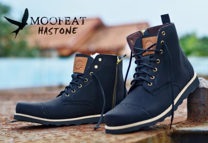 Jual Sepatu boots pria branded terbaru berkualitas moofeat hastone ... e6c674393f