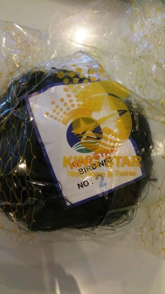 harga Jaring burung nilon lubang 1.8 cm x 1.8 cm (tinggi2.5 m x 9 m ) Tokopedia.com
