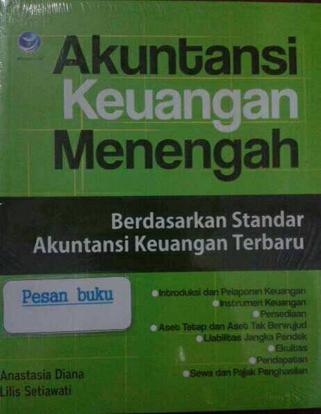 harga Buku akuntansi keuangan menengah berdasarkan standar akuntansi Tokopedia.com