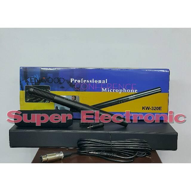 harga Mic kenwood kw 320 (shotgun / telescopic microphone) Tokopedia.com