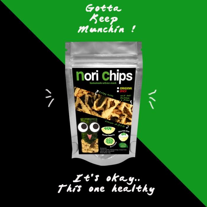 Jual Keripik Rumput Laut Nori Chips Kota Malang Nori Chips
