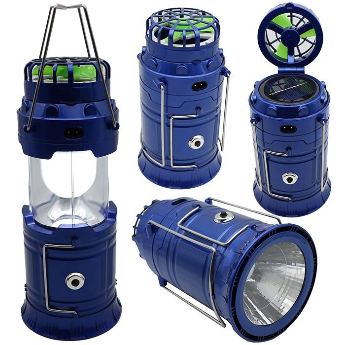 Lampu Emergency - Lentera Camping Powerbank Solar AJ15