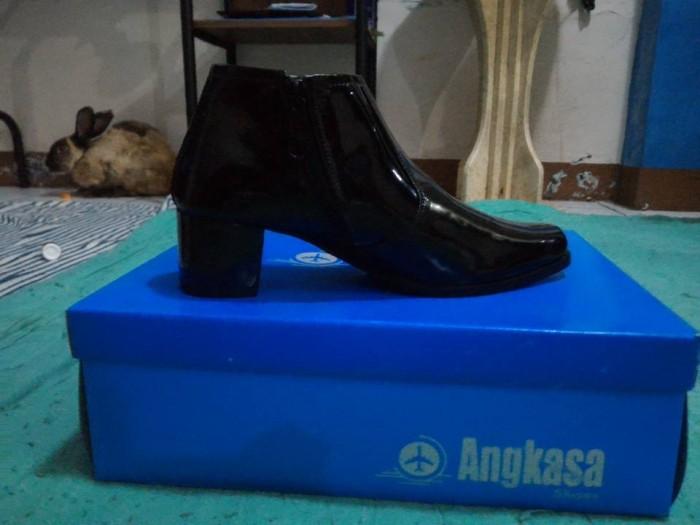 harga Sepatu boot pendek dinas hitam wanita tni /polri pns Tokopedia.com