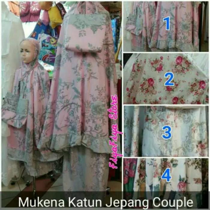 harga Mukena katun jepang couple (ibu & anak) Tokopedia.com