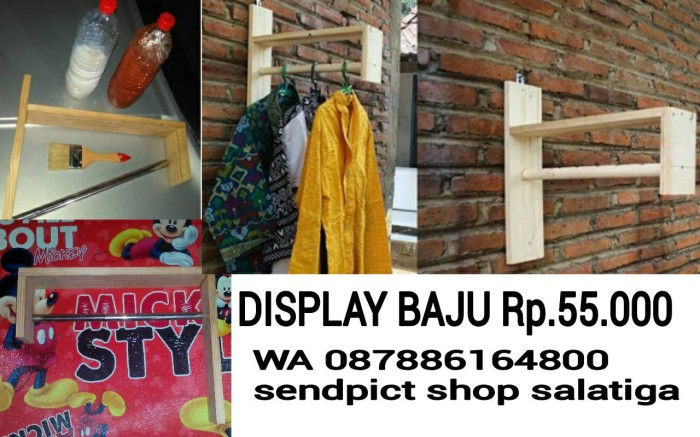 Jual Display Toko Baju Kayu Jati Belanda Kota Salatiga Sendpict Shop Salatiga Tokopedia