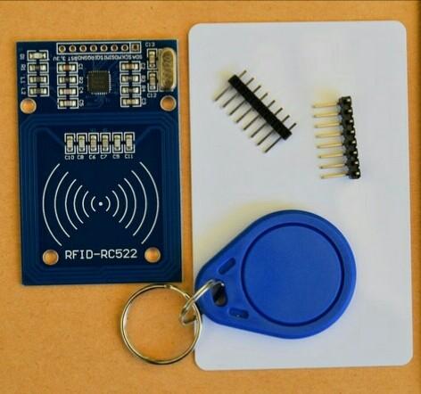 harga Rfid reader 13.56 mhz mf rc522 for raspberry pi 2 3 free card keychain Tokopedia.com