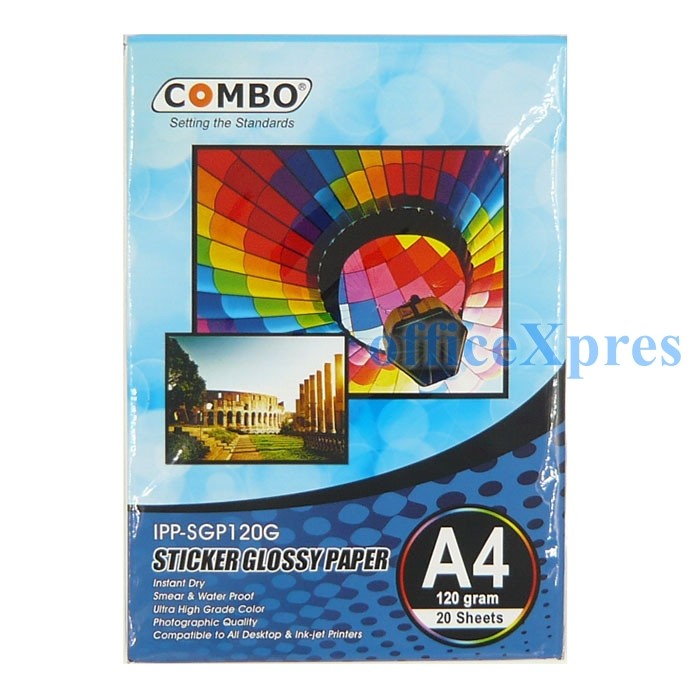 Foto Produk Sticker Glossy Photo Paper A4 120gr dari officeXpres