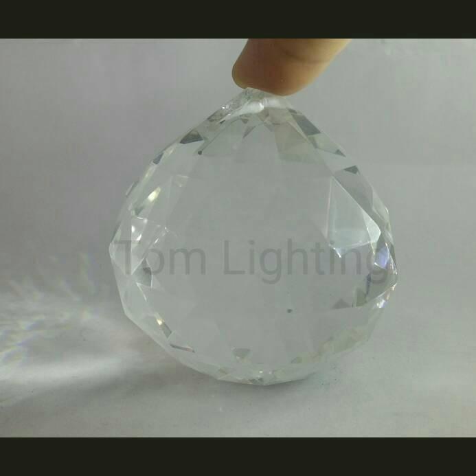 harga W15. bola kristal transparan 60mm 6cm aksesoris lampu Tokopedia.com