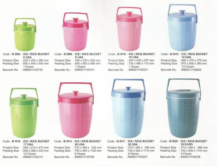 harga Khusus gojek - rice & ice bucket 14lt maspion Tokopedia.com