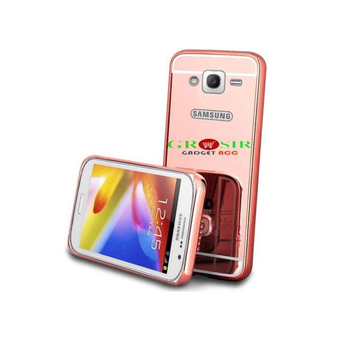 Case Metal Bumper Mirror Samsung Galaxy J7 2016/J710 Series