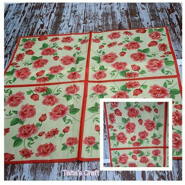 Decoupage napkin 33x33 cm 1 pack= 20pcs
