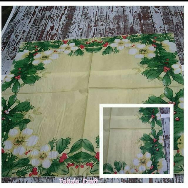 Decoupage napkin 33x33 cm 1 pack= 20 pcs