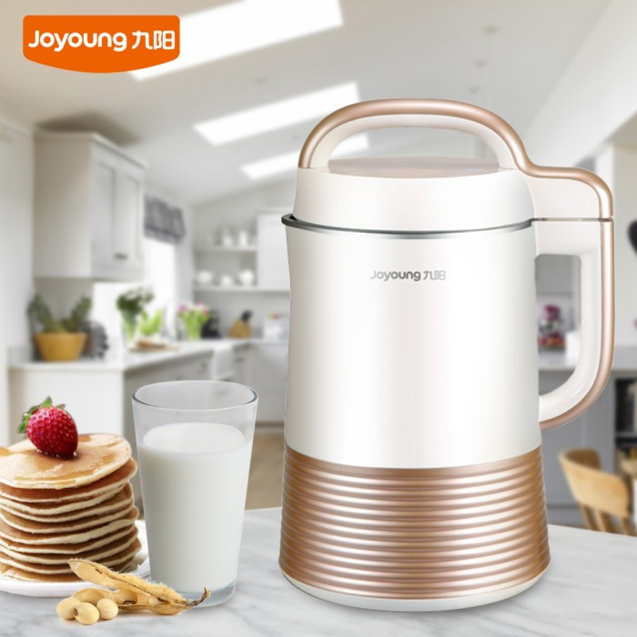 joyoung soymilk maker Because part of the process of making soy milk is grinding dry soy beans, soy milk makers have the ability to be joyoung easy-clean automatic hot soy milk maker.