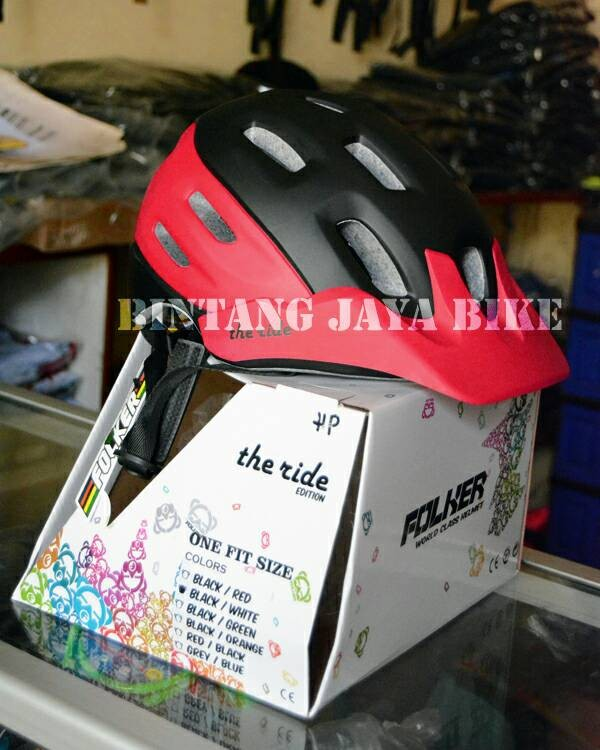 harga Helm Folker The Ride Tokopedia.com