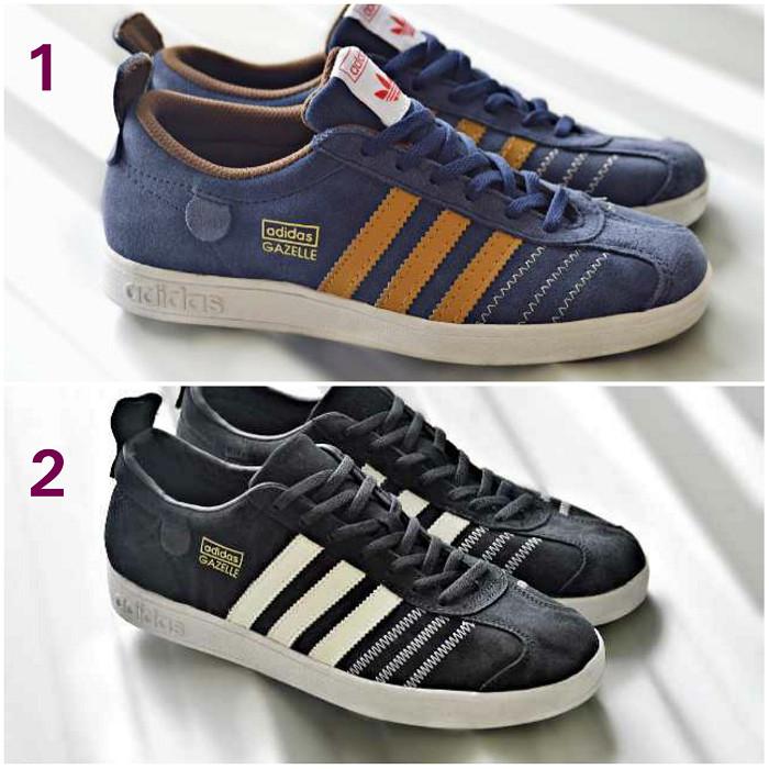 harga Sepatu pria adidas gazelle import kets casual sneakers kuliah olahraga Tokopedia.com