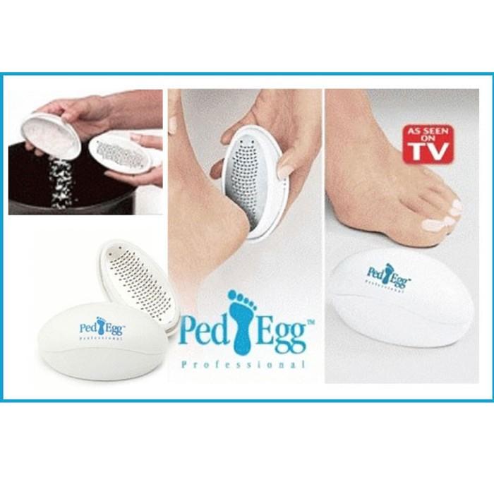 Foto Produk Ped Egg/Pembersih Penghalus Gosok Tumit Kaki Kapalan Kulit Mati Kering - TUMIT dari I-Tech Accessories HP