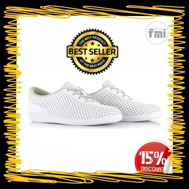 Sepatu Piero Women Jane - White/Grey (100% ORIGINAL) 2017