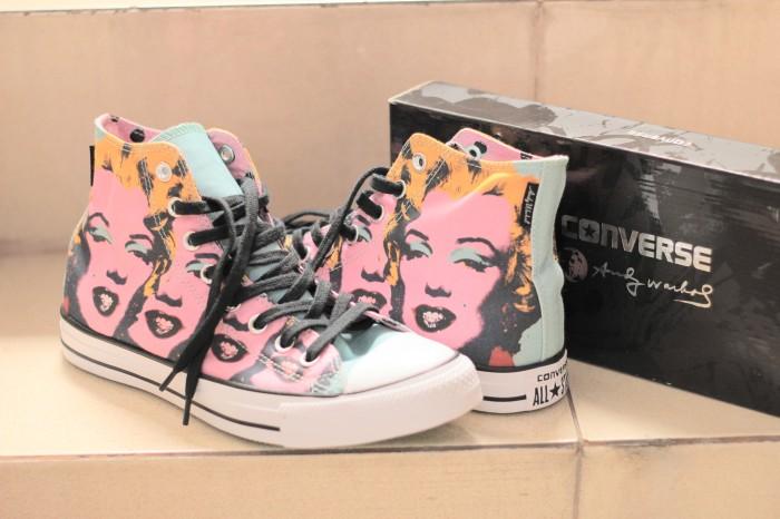 84f31848cb42 Jual Converse Andy Warhol Marilyn Monroe High Unisex - Kota Semarang ...