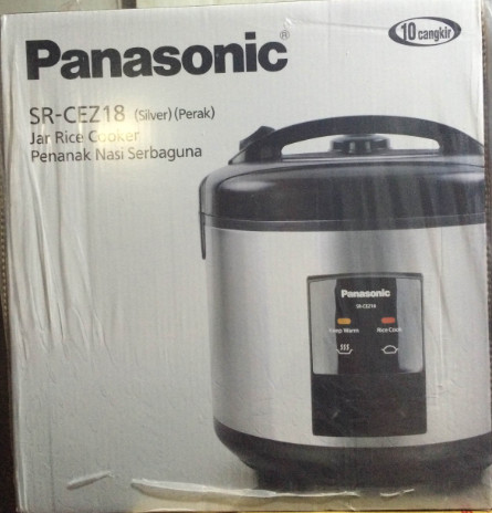 harga Rice Cooker Panasonic 3 In 1 Anti Lengket | Sr-cez18ssr Tokopedia.com