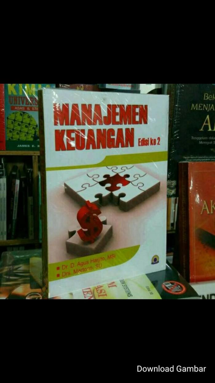 Jual Manajemen Keuangan By Agus Harjito Jakarta Pusat TB Moralin