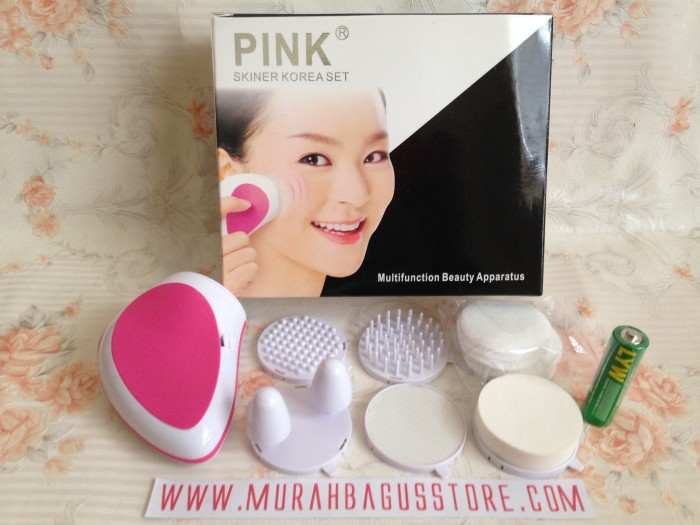 Pink Skinner Beauty Set Alat Kecantikan