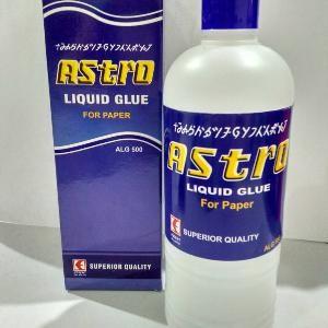 Lem Cair Astro Liquid Glue 500ml Bahan Slime Murah