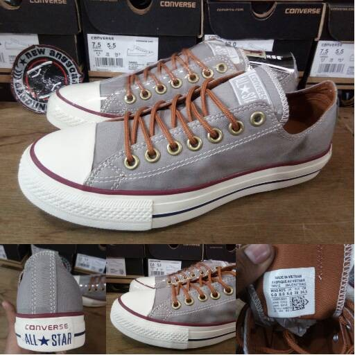 a263bf6167b537 Jual Converse CT Chuck Taylor 2 All Star PEACHED OX low Grey White ...