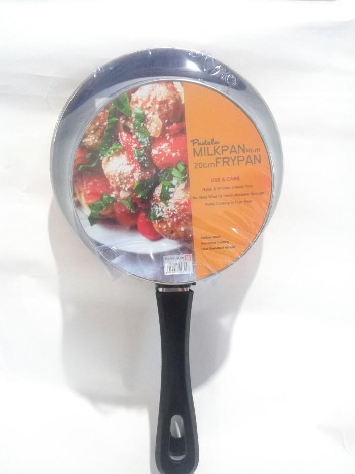 harga Milkpan + frypan pastela / fry pan set milk pan maspion 20 cm + 14 cm Tokopedia.com