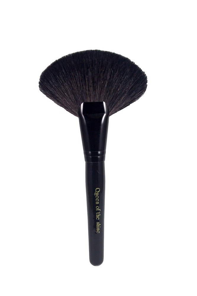 harga Queen of the shine kuas make up / big large fan brush / kuas kipas 005 Tokopedia.com