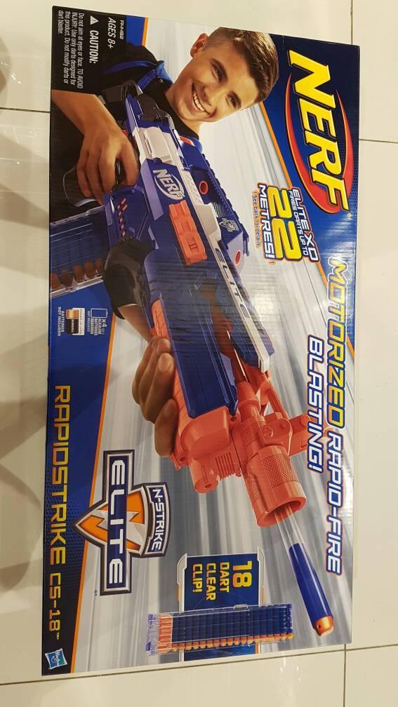 harga Nerf rapidstrike cs 18 Tokopedia.com
