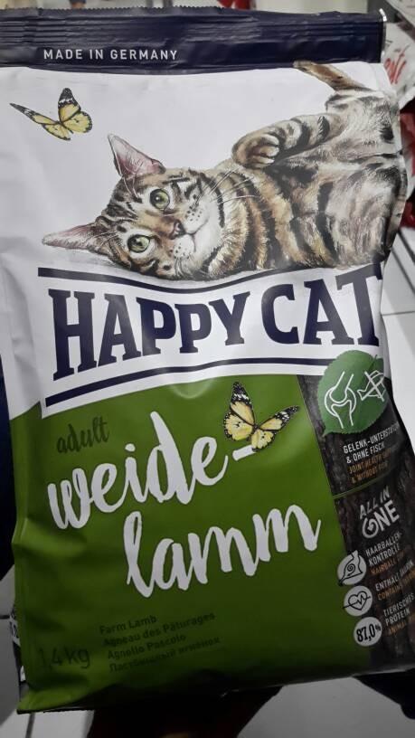 harga Happy cat adult farm lamb 1,4kg Tokopedia.com