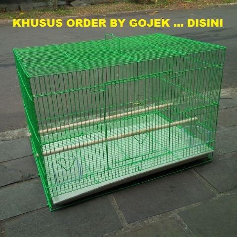 harga Sangkar / kandang burung small pet 60x40x40cm Tokopedia.com
