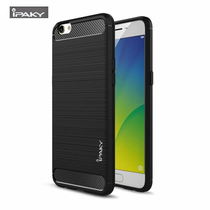 quality design bab53 1277a Jual softcase ipaky Oppo F1S A59 soft case ipaky carbon cover back casing -  Kota Tangerang - indocantik | Tokopedia