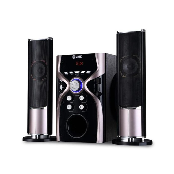 GMC 887G Speaker Aktif - Bluetooth Connection - Gold