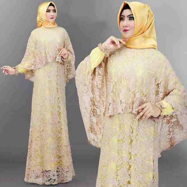 Jual Baju Pesta Muslimah Gamis Wanita Modern Gamis