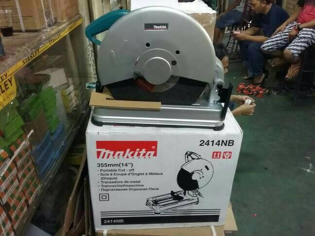 harga Mesin Cutting Wheel Makita 2414 Nb Gojek / Cut Off / Potong Besi 14