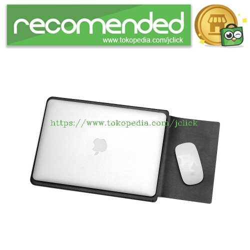harga Leather sleeve case for macbook pro 2016 & macbook air 13 inch - black Tokopedia.com