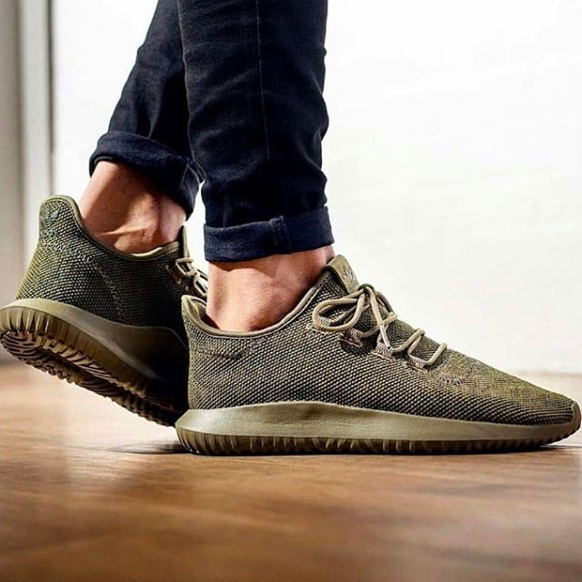 13da5bed5241 Jual SEPATU ADIDAS TUBULAR SHADOW KNIT GREEN OLIVE HIJAU BROWN ...