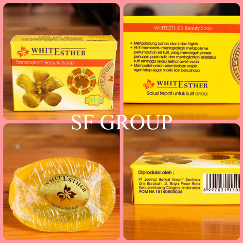 Original Murah [ SABUN ] WHITE ESTHER TRANSPARANT SOAP - SABUN ESTHER