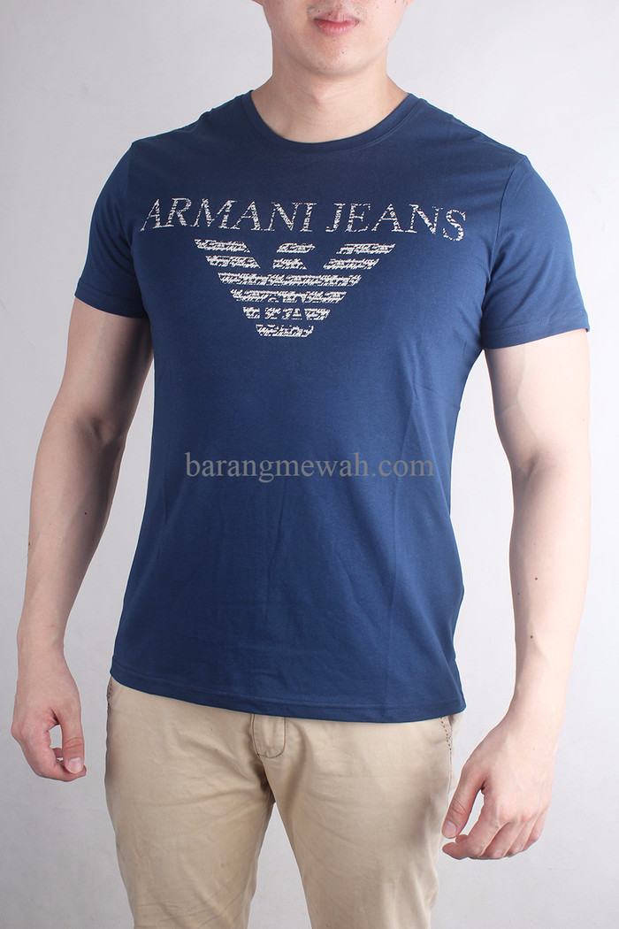 Jual EXCLUSIVE T-Shirt   Kaos Giorgio Armani Premium Import (code T ... 1a136af09e