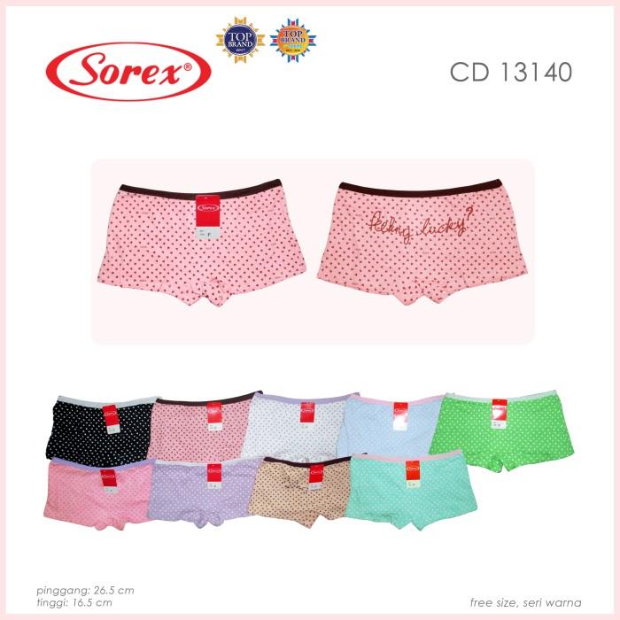 Jual sorex CD 13140 fashion celana dalam wanita termurah boxer ... db6ecd33ec