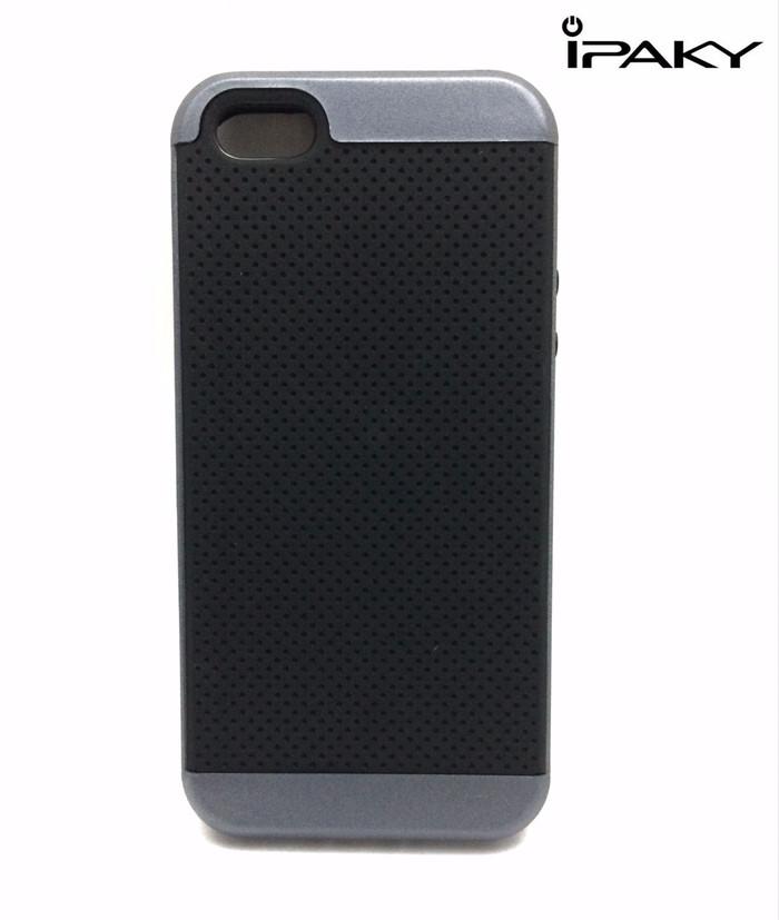 Softcase hardcase Iphone 5/5s/5SE Casing IPAKY Neo Hybrid Case Karet