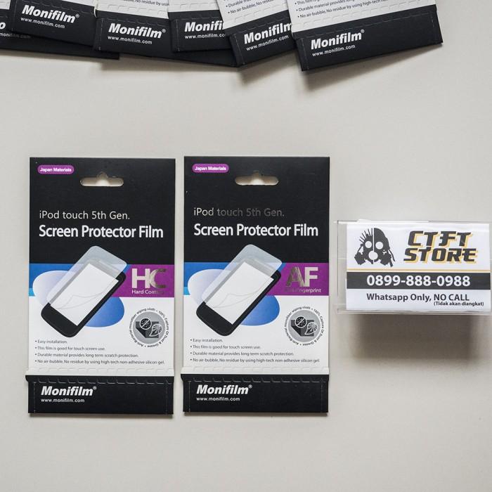 harga Monifilm screen protector / screen guard for ipod touch 5 / 6 gen Tokopedia.com