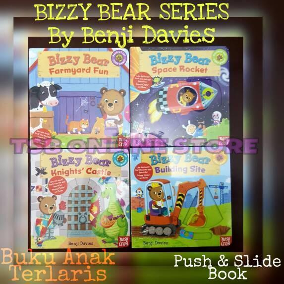 harga Buku anak bizzy bear series - by benji davies Tokopedia.com