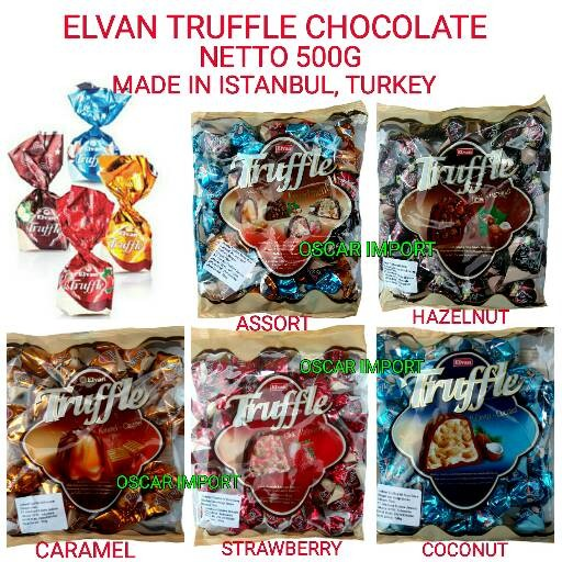 ELVAN TRUFFLE CHOCOLATE 500GR