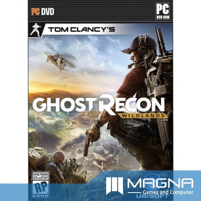 harga Pc game - tom clancy's ghost recon wildlands (no disc box & key only) Tokopedia.com