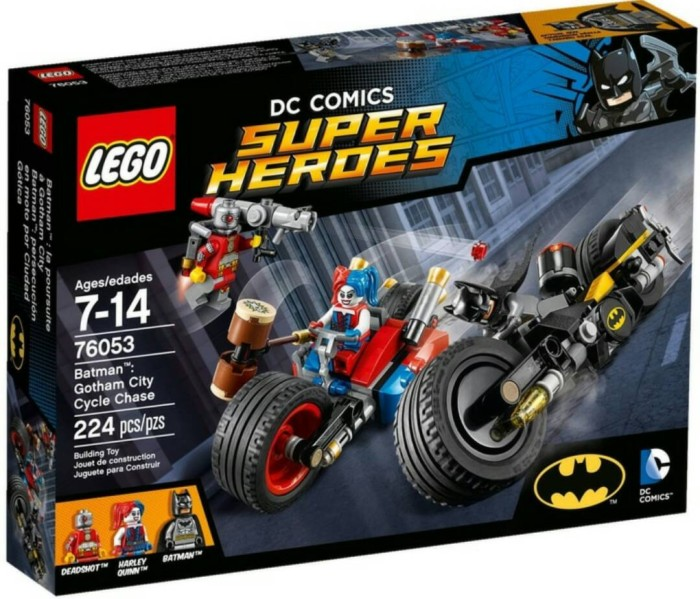 harga Lego super heroes 76053 gotham city cycle chase Tokopedia.com