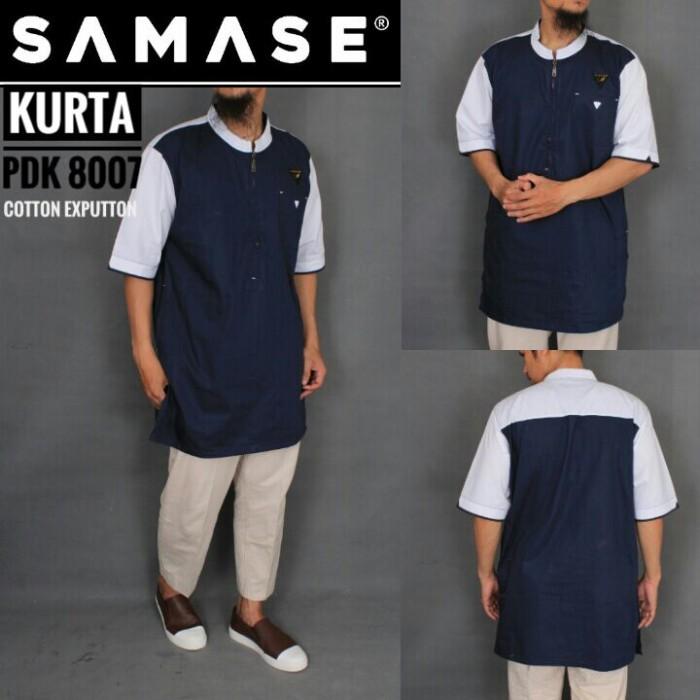harga Baju muslim modern gamis kurta pakistan pria samase clothes 8007 -2 Tokopedia.com